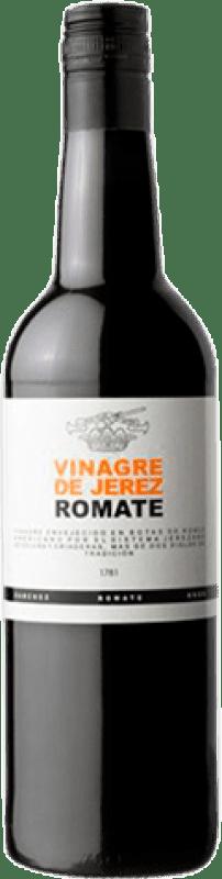 5,95 € Envío gratis | Vinagre Sánchez Romate Jerez España Botella 75 cl