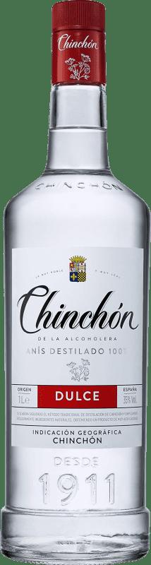 9,95 € 免费送货 | 八角 González Byass Chinchón de la Alcoholera 甜美 西班牙 瓶子 Misil 1 L