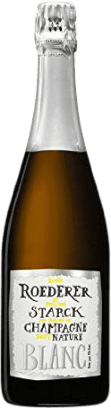 83,95 € | White sparkling Louis Roederer Starck Brut Nature Gran Reserva 2006 A.O.C. Champagne France Pinot Black, Chardonnay Bottle 75 cl