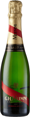 19,95 € | White sparkling G.H. Mumm Cordon Rouge Brut Gran Reserva A.O.C. Champagne France Pinot Black, Chardonnay, Pinot Meunier Half Bottle 37 cl