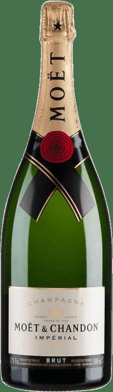 89,95 € | White sparkling Moët & Chandon Estoig Brut Gran Reserva A.O.C. Champagne France Magnum Bottle 1,5 L