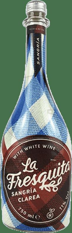 8,95 € Envío gratis | Sangría Sort del Castell La Fresquita Clarea España Botella 75 cl