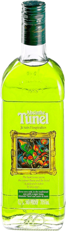 16,95 € Envío gratis | Absenta Antonio Nadal Tunel Cuadros España Botella 70 cl