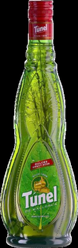 11,95 € Envoi gratuit | Digestif Antonio Nadal Tunel Hierbas Doux Espagne Bouteille Missile 1 L