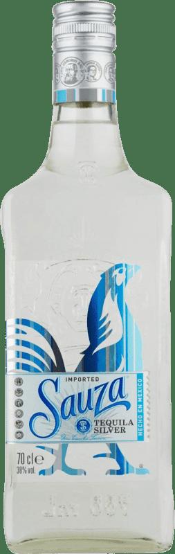 15,95 € Envío gratis | Tequila Suntory Sauza Blanco Mexico Botella 70 cl