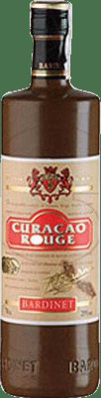 9,95 € Envío gratis | Triple Seco Bardinet Curaçao Vermell España Botella 70 cl
