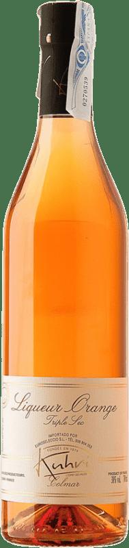 31,95 € 免费送货 | 三重秒 Kuhri Orange 法国 瓶子 70 cl