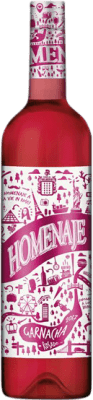 5,95 € Envío gratis | Vino rosado Marco Real Homenaje Joven D.O. Navarra Navarra España Garnacha Botella 75 cl