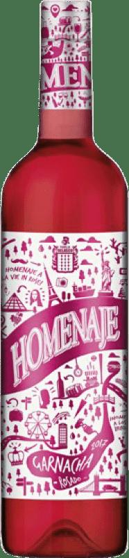 5,95 € Free Shipping   Rosé wine Marco Real Homenaje Joven D.O. Navarra Navarre Spain Grenache Bottle 75 cl