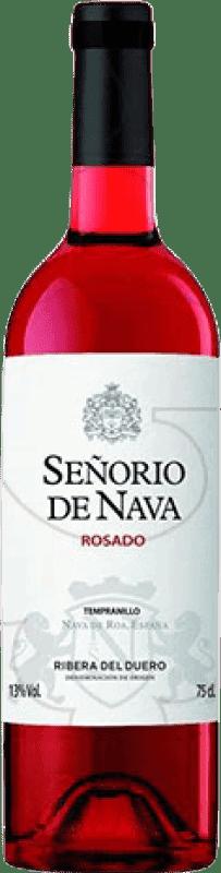 5,95 € | Rosé wine Señorío de Nava Rosat Joven D.O. Ribera del Duero Castilla y León Spain Tempranillo, Albillo Bottle 75 cl