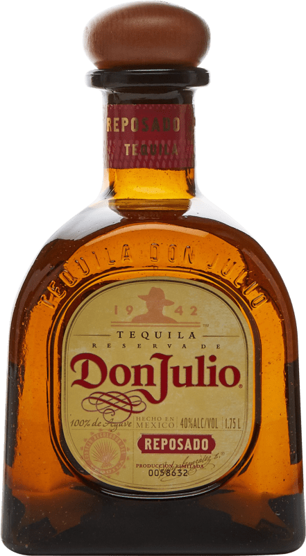 98,95 € Free Shipping | Tequila Don Julio Reposado Mexico Magnum Bottle 1,75 L