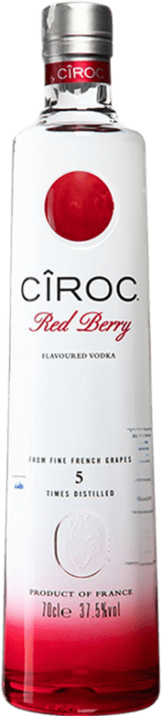 34,95 € | Vodka Cîroc Red Berry France Bottle 70 cl
