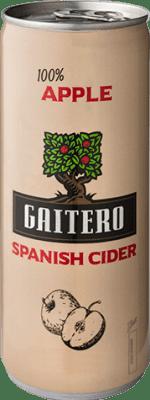 0,95 € Free Shipping | Cider El Gaitero Spain Lata 25 cl
