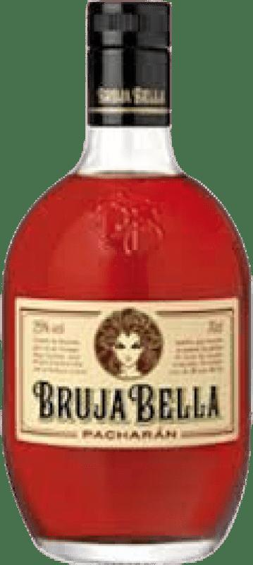 8,95 € 免费送货 | Pacharán Caballero Bruja Bella 西班牙 瓶子 70 cl