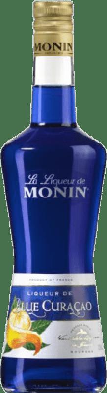 16,95 € Free Shipping   Triple Dry Monin Blue Curaçao France Bottle 70 cl