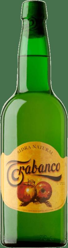 4,95 € Envío gratis | Sidra Trabanco Natural de Asturias Principado de Asturias España Botella 75 cl