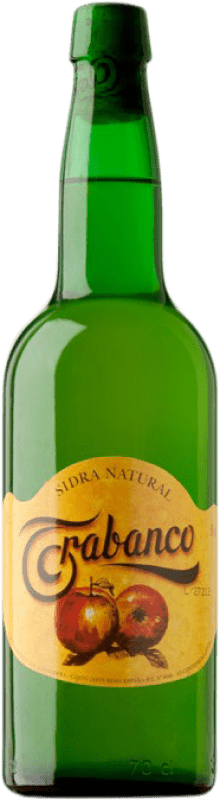 4,95 € 免费送货   苹果酒 Trabanco Natural de Asturias 阿斯图里亚斯公国 西班牙 瓶子 75 cl