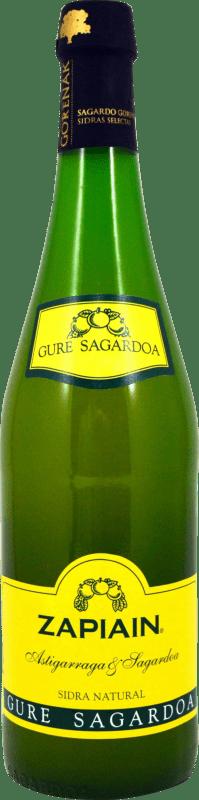 4,95 € Envío gratis | Sidra Zapiain Zapiain España Botella 75 cl