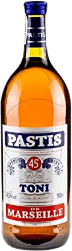 15,95 € Free Shipping | Pastis Toni France Magnum Bottle 1,5 L
