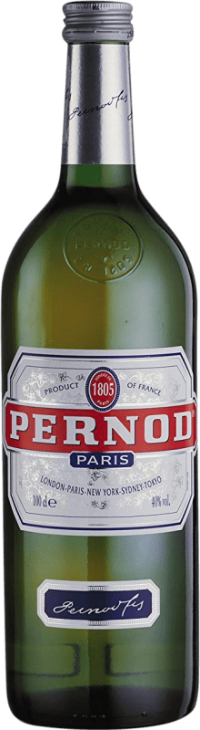 15,95 € Free Shipping | Pastis Pernod 45 France Missile Bottle 1 L