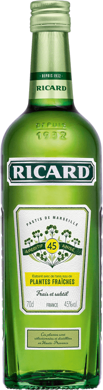 14,95 € | Pastis Pernod Ricard Plantes Fraiches France Bottle 70 cl