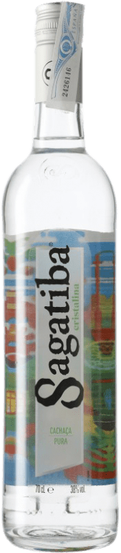 16,95 € | Cachaza Sagatiba Pura Brazil Bottle 70 cl