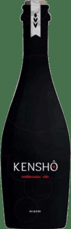 11,95 € Free Shipping | Sake Kenshô Nigori Spain Botellín Tercio 33 cl
