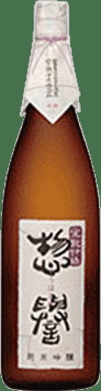53,95 € Envío gratis | Sake Kimoto Junmai Ginjo Japón Botella 72 cl