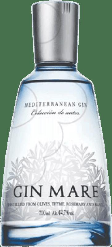 35,95 € 免费送货 | 金酒 Gin Mare Farolillo 西班牙 瓶子 70 cl