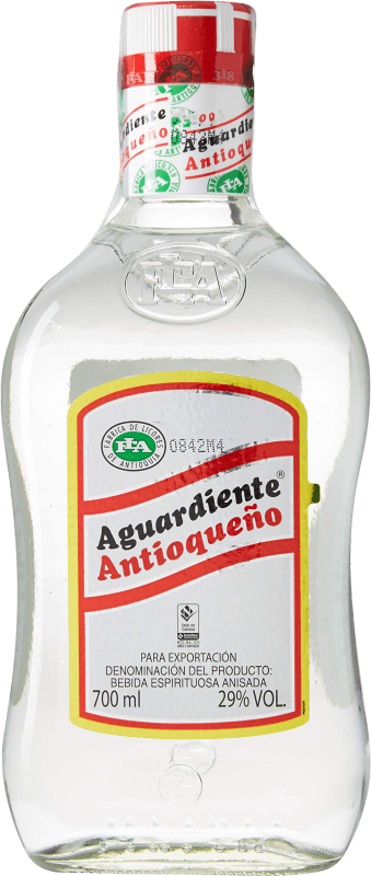 12,95 € Free Shipping | Aniseed Aguardiente Antioqueño Colombia Bottle 70 cl