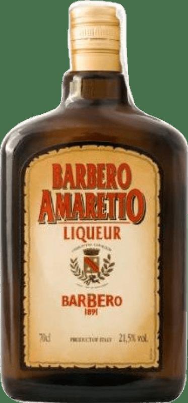 7,95 € Envío gratis | Amaretto Barbero Italia Botella 70 cl