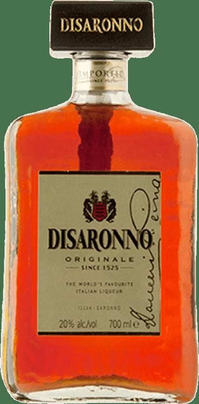 16,95 € Envío gratis | Amaretto Disaronno Italia Botella 70 cl