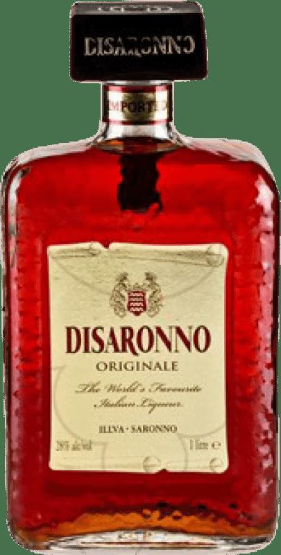 19,95 € Envío gratis | Amaretto Disaronno Italia Botella Misil 1 L