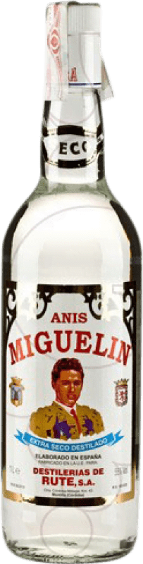 16,95 € Free Shipping | Aniseed Anís Miguelín Dry Spain Missile Bottle 1 L