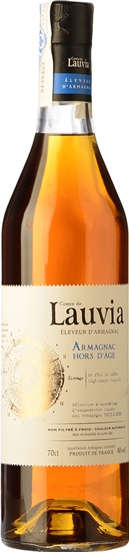 77,95 € Free Shipping | Armagnac Lauvia Hors d'Age France Bottle 70 cl