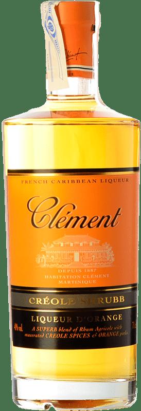 25,95 € | Triple Dry Clement Liqueur Creole Martinique Bottle 70 cl