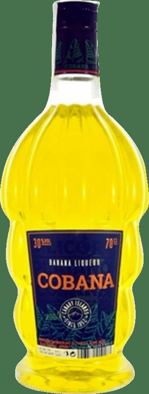 13,95 € 免费送货 | Schnapp Cobana Licor de Banana 西班牙 瓶子 70 cl