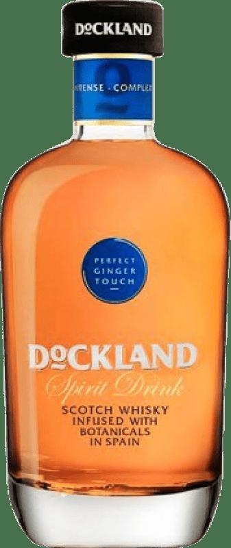 21,95 € Free Shipping | Whisky Blended Dockland Spain Bottle 70 cl