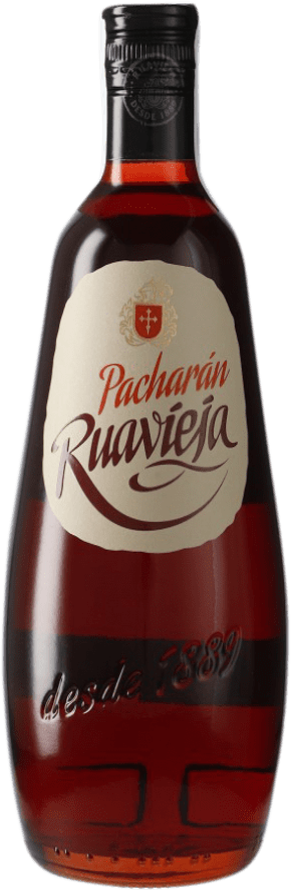 9,95 € 免费送货 | Pacharán Rua Vieja Ruavieja 西班牙 瓶子 70 cl