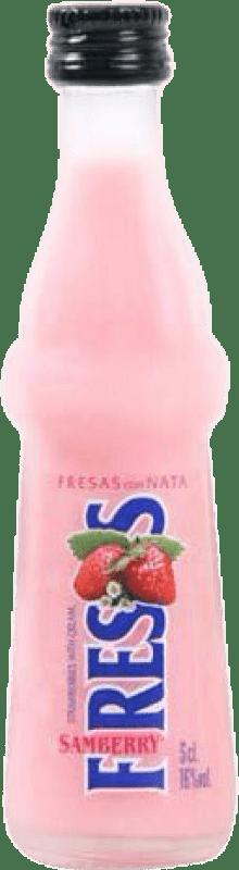 9,95 €   Liqueur Cream Samberry Fresas con Nata Spain Bottle 70 cl