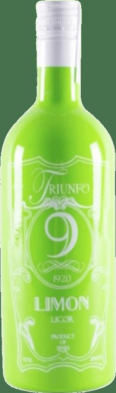 11,95 € 免费送货 | Schnapp Triunfo 9 Licor de Limón 西班牙 瓶子 70 cl