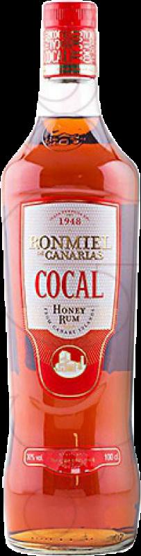 14,95 € Envío gratis   Ron Cocal Miel España Botella Misil 1 L