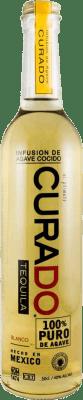 38,95 € Free Shipping | Tequila 8 Blanco Curado Mexico Half Bottle 50 cl