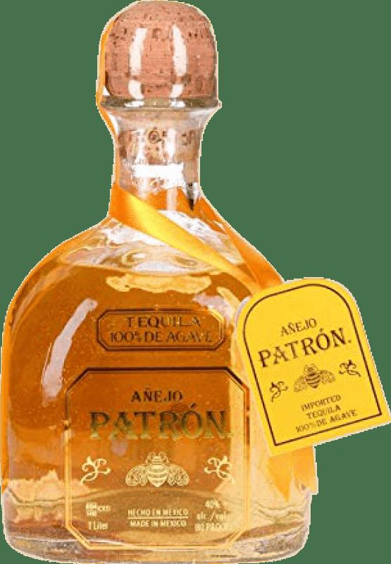 66,95 € | Tequila Patrón Añejo Mexico Missile Bottle 1 L