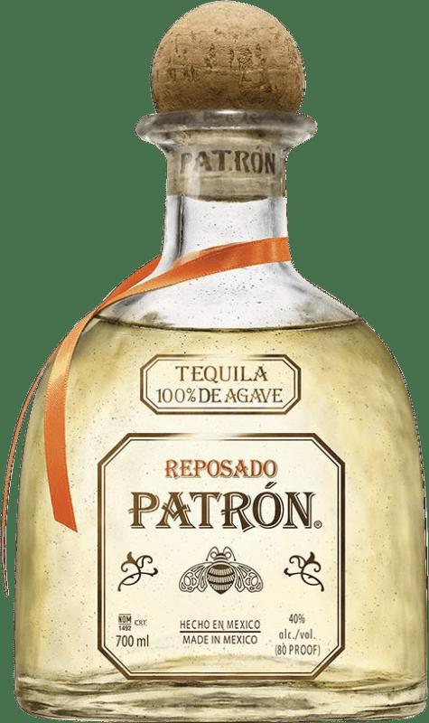 68,95 € | Tequila Patrón Reposado Mexico Bottle 70 cl