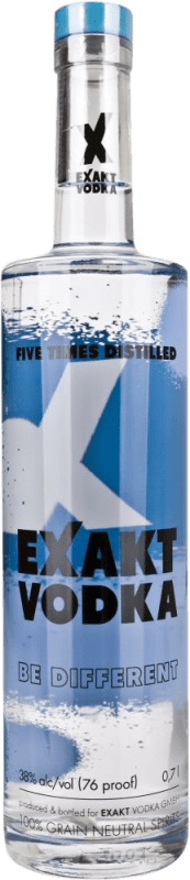 9,95 € Envío gratis | Vodka Exakt Suecia Botella 70 cl