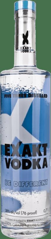 9,95 € Envoi gratuit | Vodka Exakt Suède Bouteille 70 cl