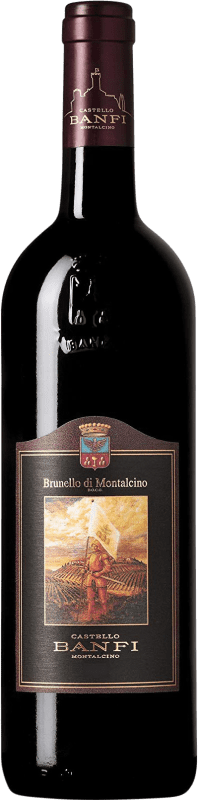 39,95 € | Red wine Castello Banfi D.O.C.G. Brunello di Montalcino Italy Sangiovese Bottle 75 cl
