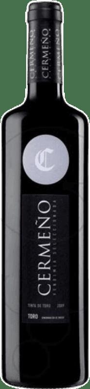 4,95 € Envio grátis   Vinho tinto Cermeño Collita D.O. Toro Castela e Leão Espanha Tempranillo Garrafa 75 cl