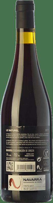 6,95 € Free Shipping | Red wine Le Naturel Joven D.O. Navarra Navarre Spain Bottle 75 cl